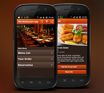 Logixer Restaurant Android Application