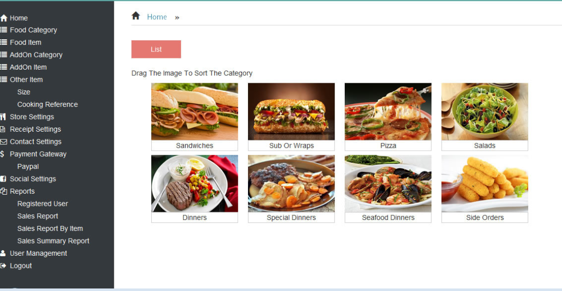 InnSoft Food Ordering System